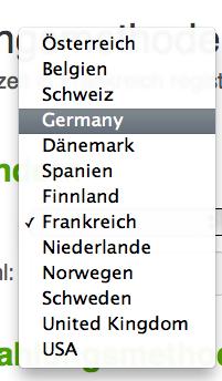 Länder, Sprachen, kompliziert.